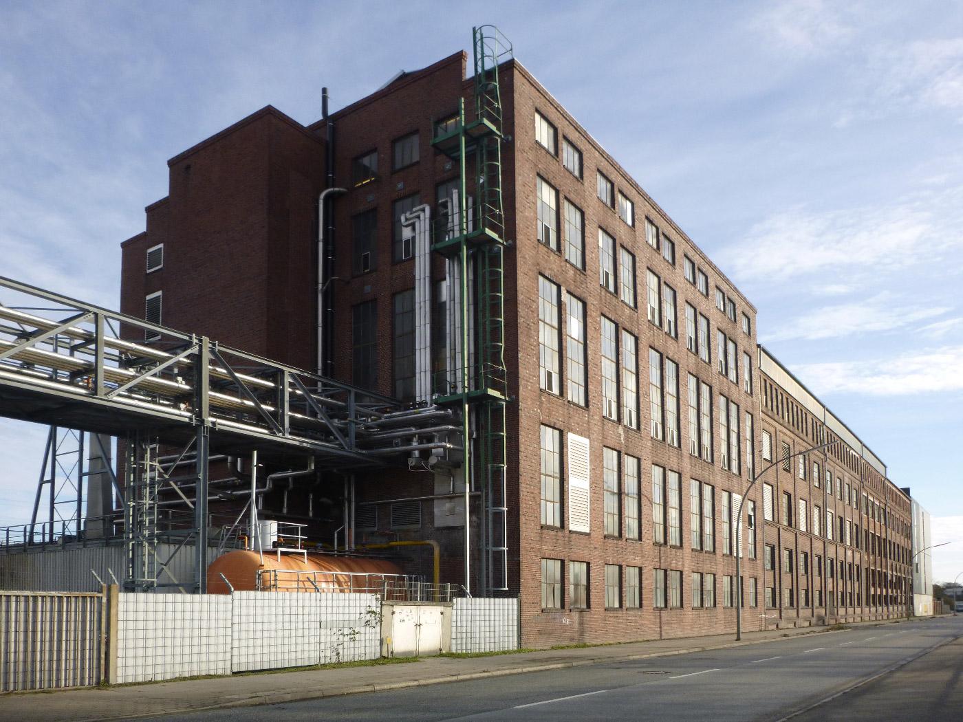 Raffineriegebäude, Hamburg-Harburg
